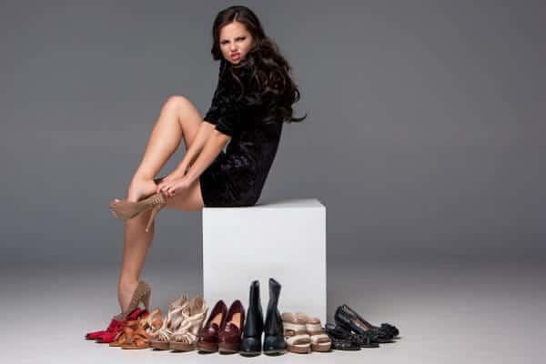 התאמת מידת נעליים