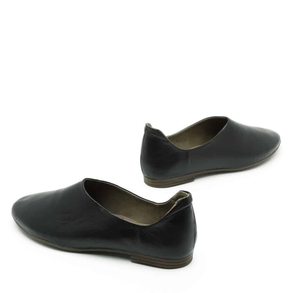 נעלי בלרינה שטוחות בצבע שחור - דגם יהל 3363