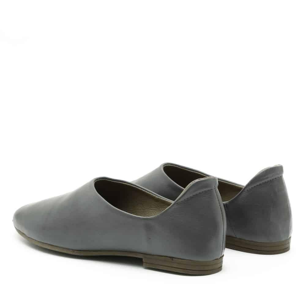 נעלי בלרינה שטוחות בצבע אפור - דגם יהל 3363