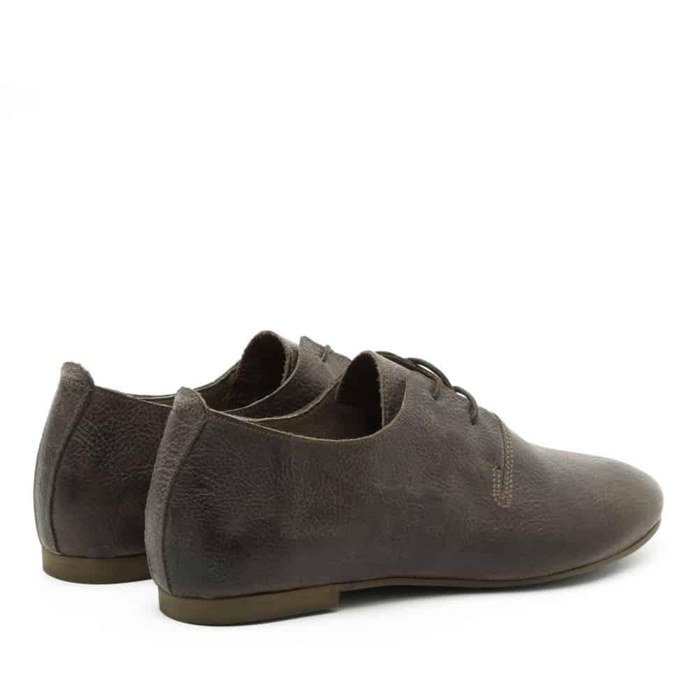 נעל נוחות חומה ושטוחה מעור - דגם תהילה 1586