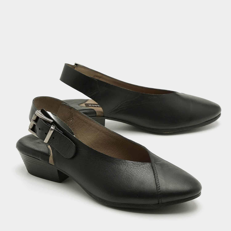 נעלי סירה שטוחות בדוגמת מעטפת – דגם שי