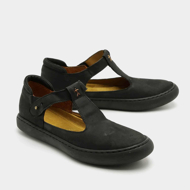 נעלי בלרינה שטוחות מעור איטלקי – דגם איימי