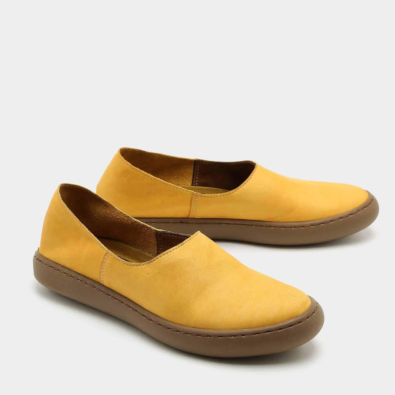 נעלי בלרינה שטוחות בעיצוב ספורטיבי – דגם אמי