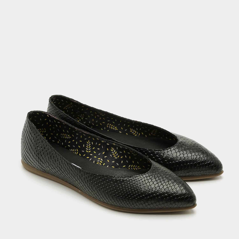 נעלי בלרינה שטוחות בעיצוב קלאסי על זמני – דגם אליה