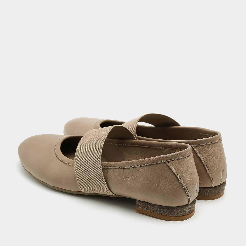 נעלי בלרינה שטוחות מעור – דגם אורה