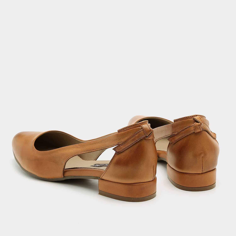 נעלי סירה מעור בעיצוב נקי – דגם פטי
