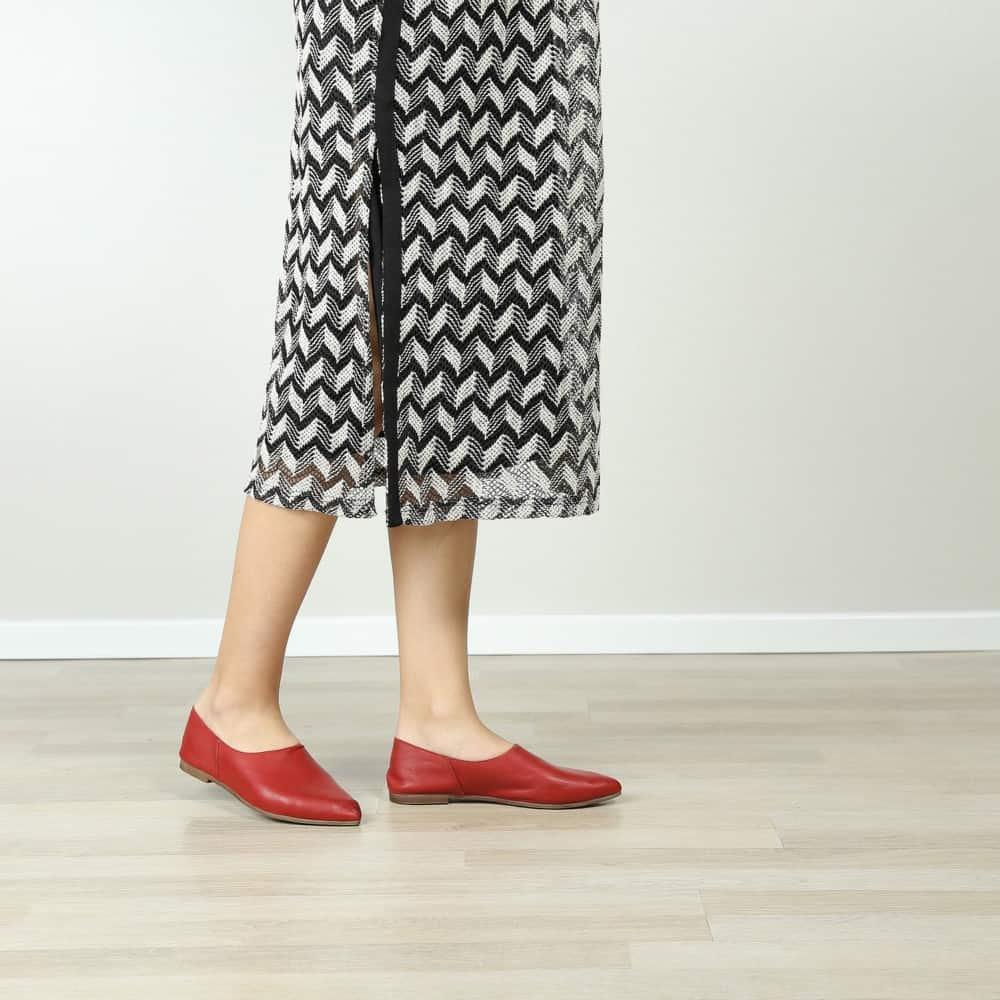 נעל בלרינה שטוחה קלאסית – דגם נגה