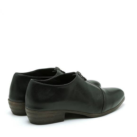 נעליים נמוכות עם רוכסן קדמי – דגם אור