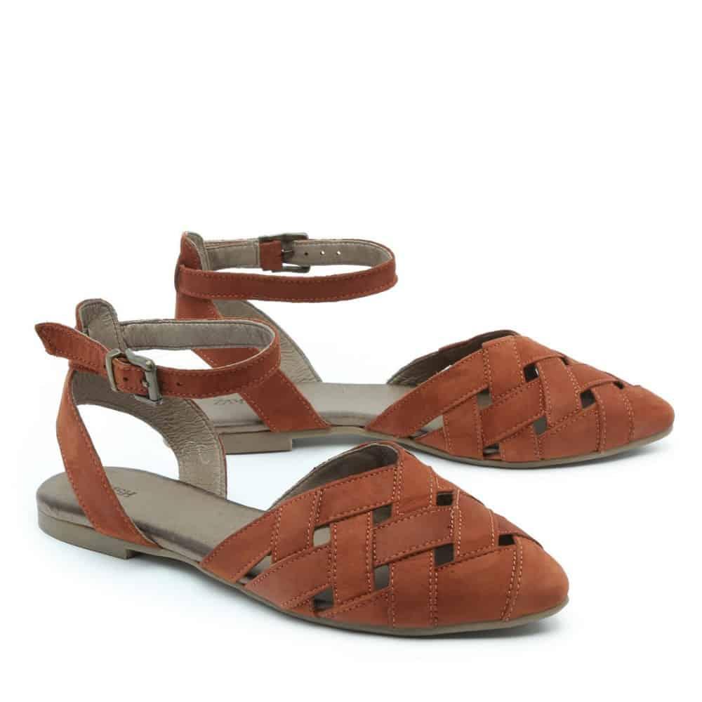 נעל בלרינה קלועה – דגם סופי