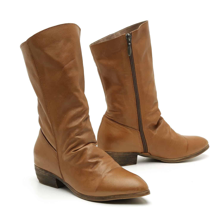 מגפיים עם כיווצים לנשים – דגם רובי
