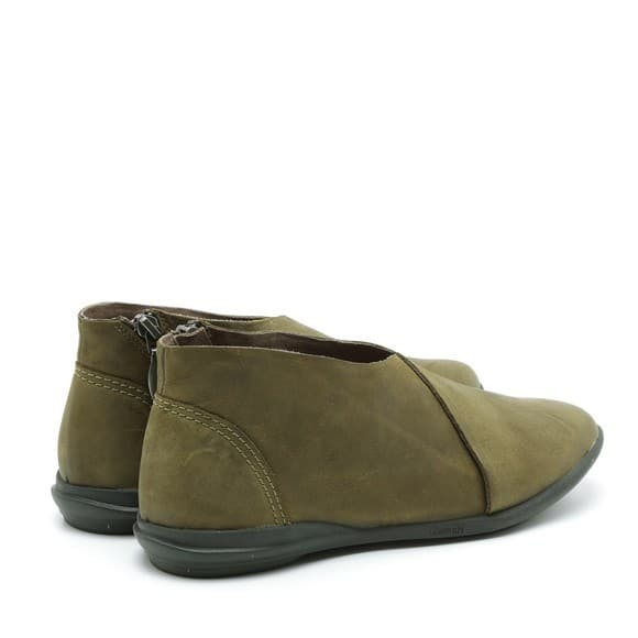 נעליים שטוחות מעור דוגמת מעטפת – דגם אלי