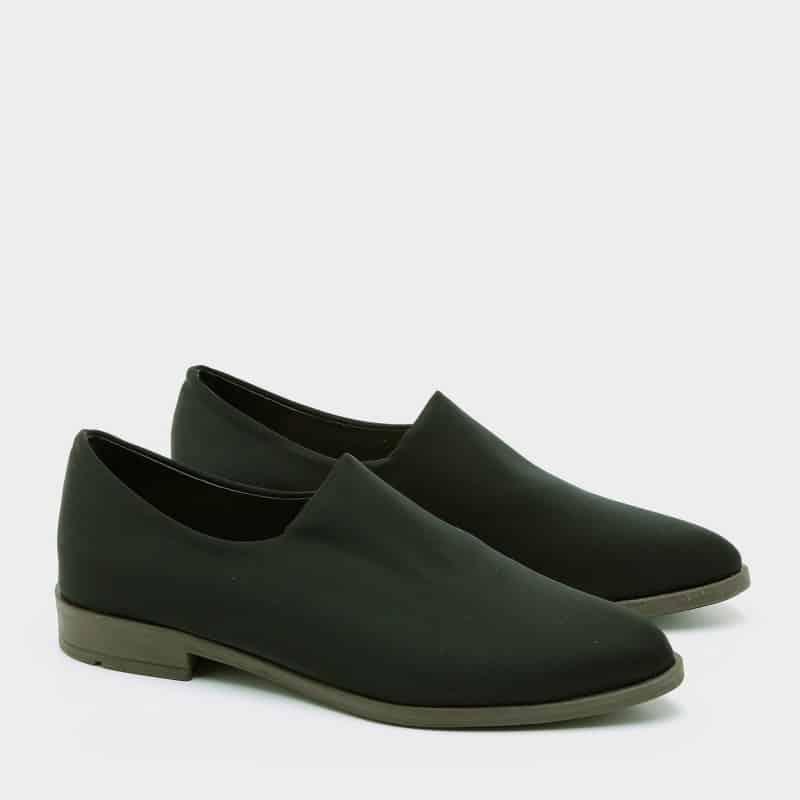 רויטל / נעלי סירה/ שחור / 6401