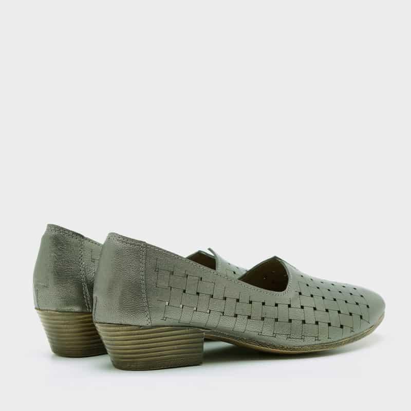 נעלי סירה מעור בעיצוב מעטפה – דגם סוזן