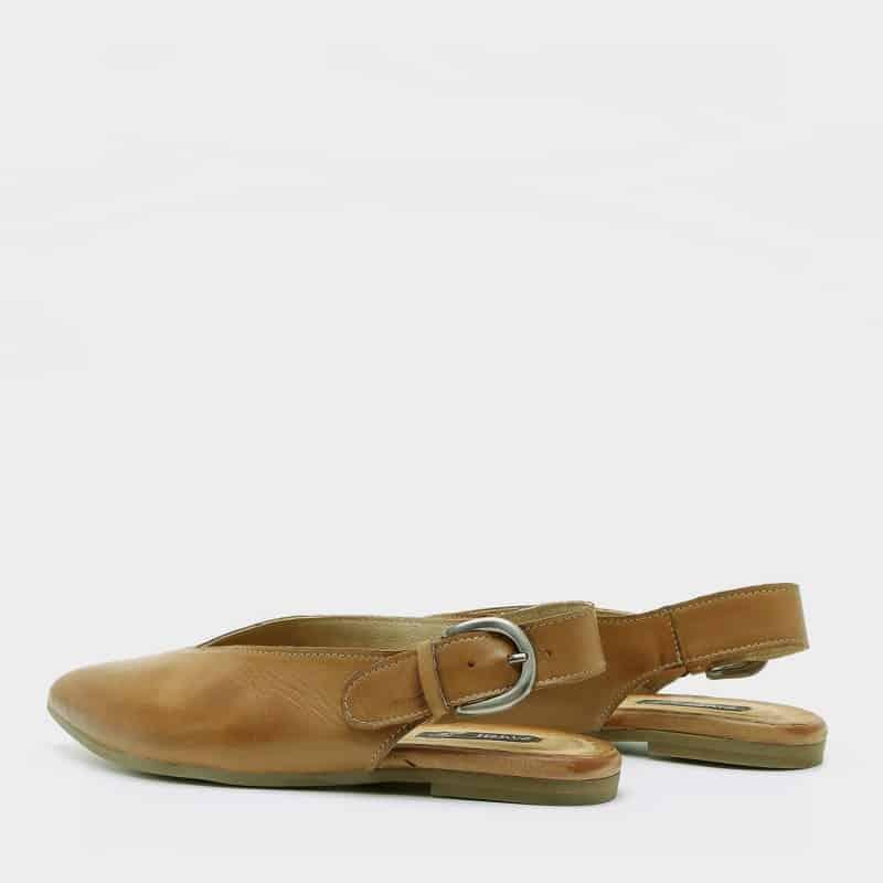 נעלי בלרינה לנשים צבע כאמל - דגם טלי 8896