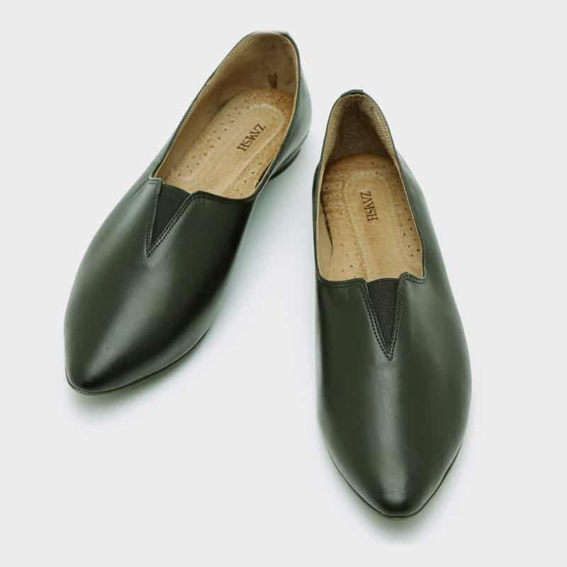 נעלי בלרינה מעור – דגם שון