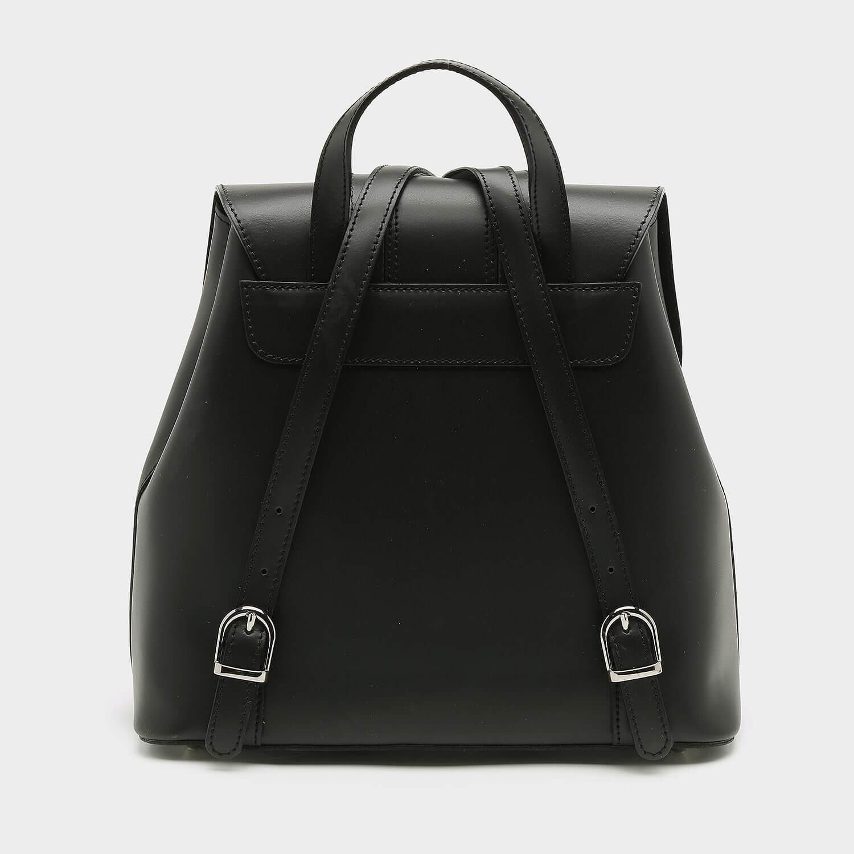 תיק גב קלאסי מעור בצבע שחור - דגם מור 113