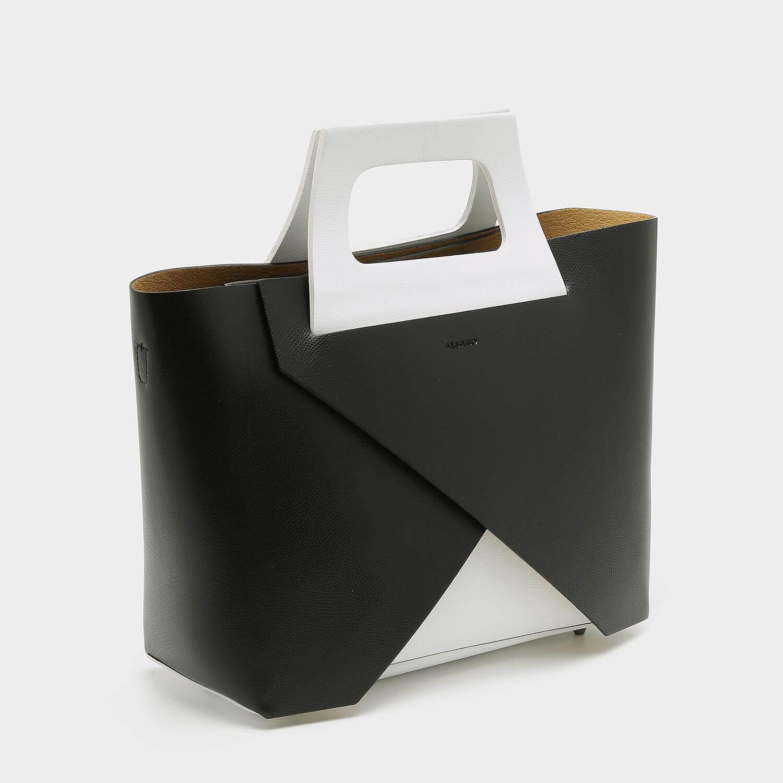 תיק צד משולב בצבע לבן - דגם ריי 2001