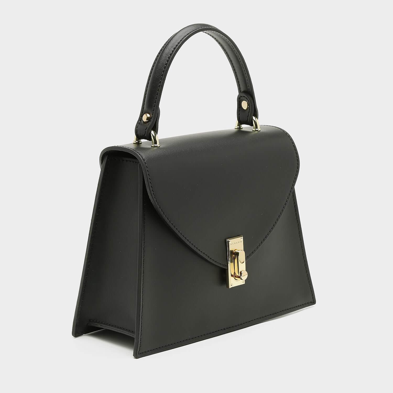 תיק צד שחור קטן בעיצוב קלאסי - דגם בלה 06