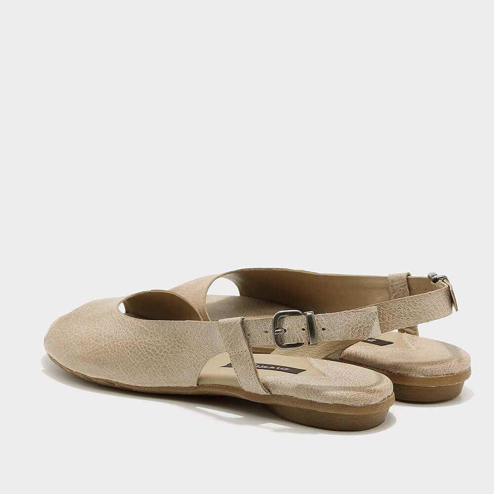 נעלי סירה פתוחות לנשים בגוון טאופ - דגם היילי 3920
