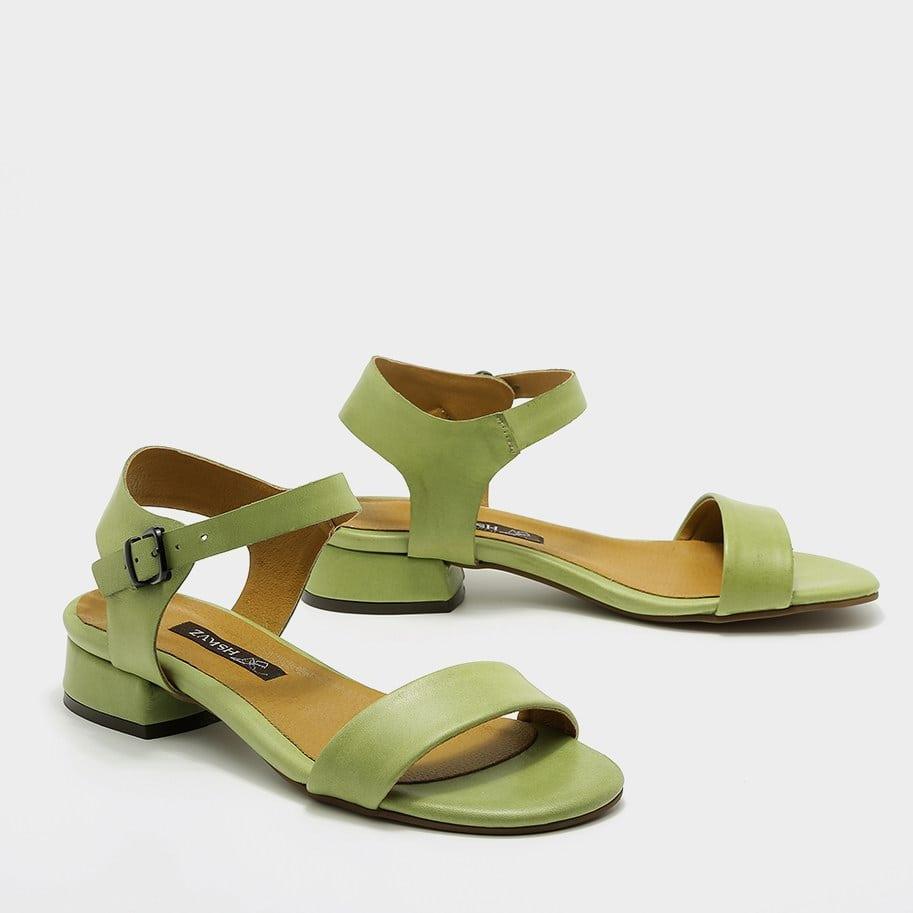 סנדלי נוחות ירוקות לנשים - דגם סיגל 53681