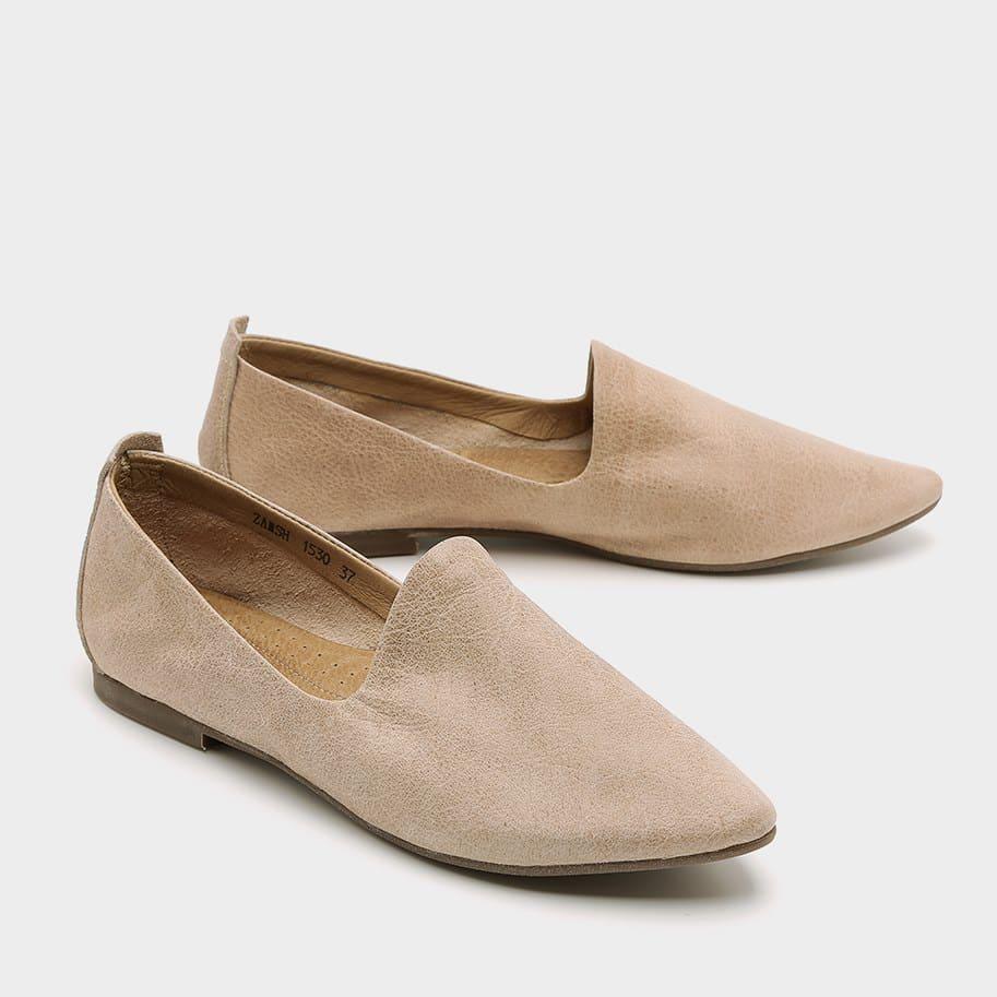 נעלי בלרינה סגורות מעור – דגם מילי