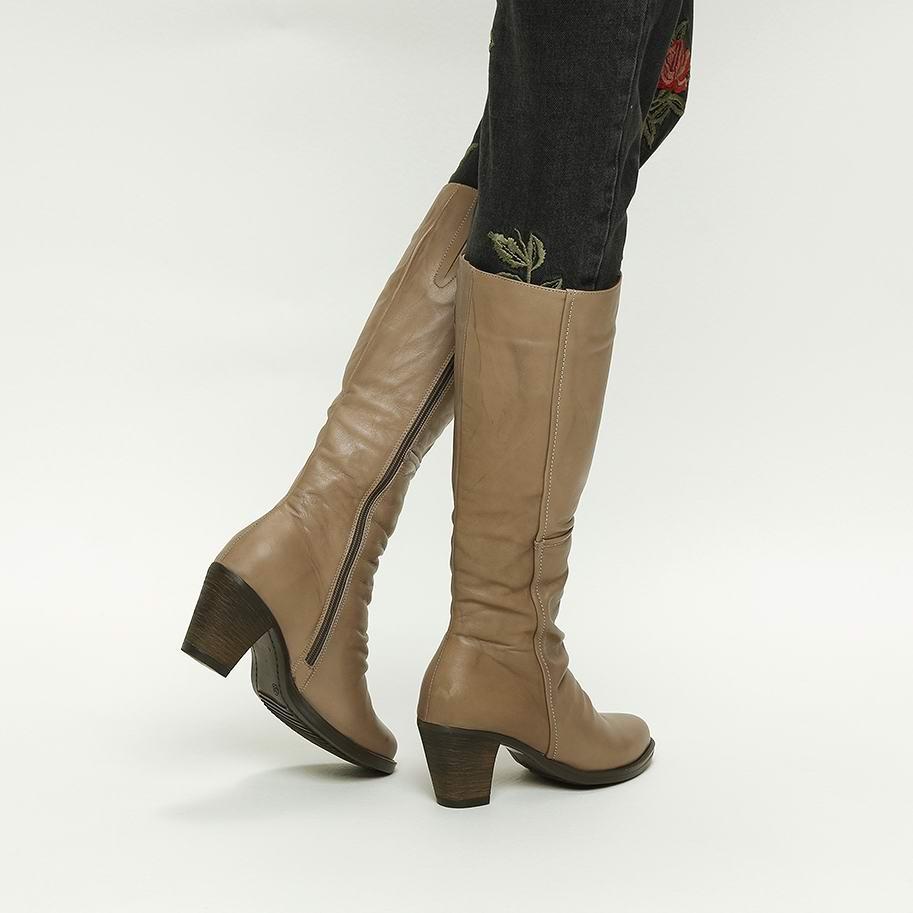 מגפיים עקב גבוה – דגם צופיה