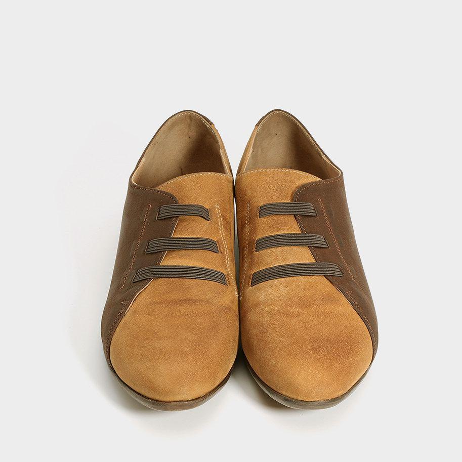 נעל מעטפה עם רצועות גומי – דגם בת אל