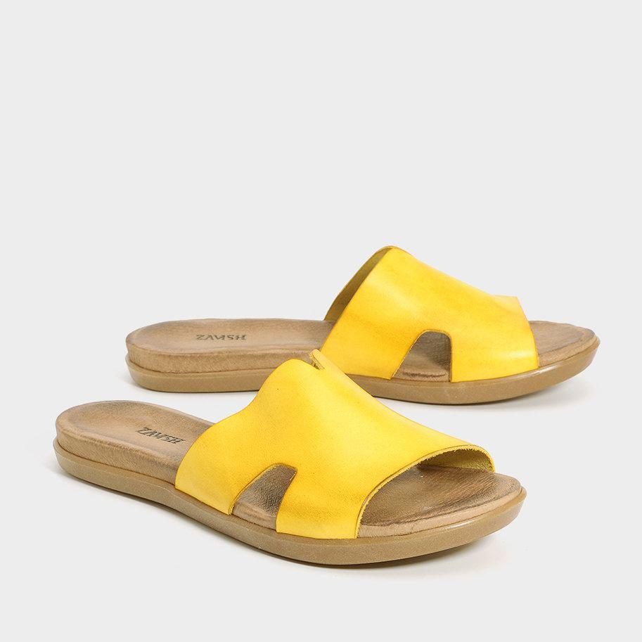 כפכפים צהובים לנשים - דגם דיאנה