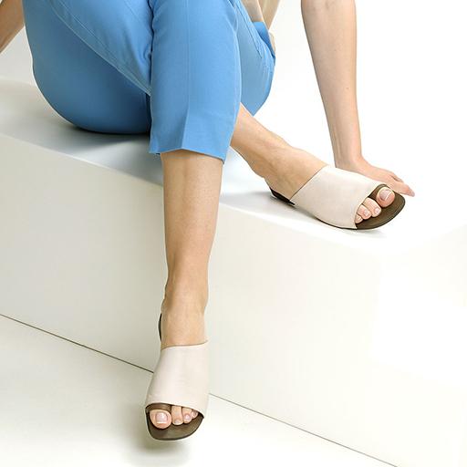 כפכפי מיול עם רצועת אצבע עגולה, דגם – אתונה.