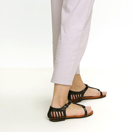 סנדלי לייזר רצועת טי – דגם סול