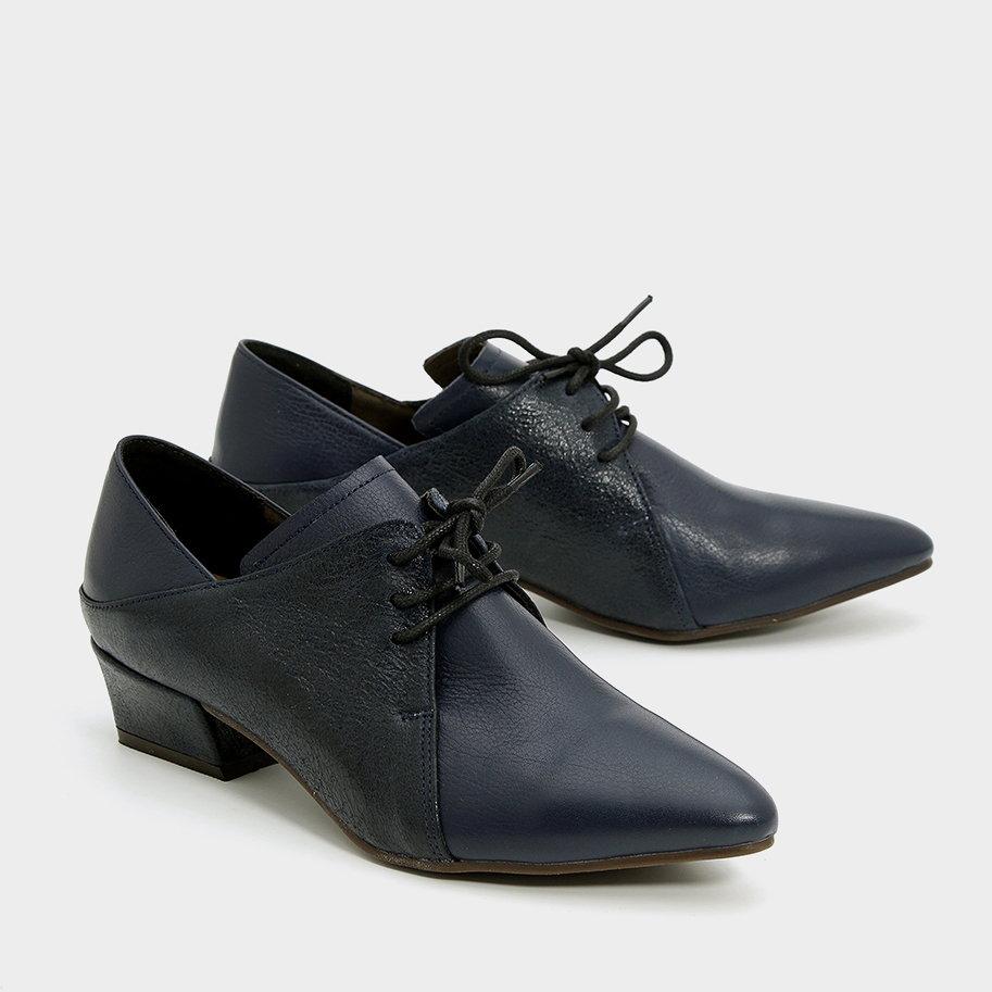 נעלי אוקספורד מחודדות – דגם מרילין