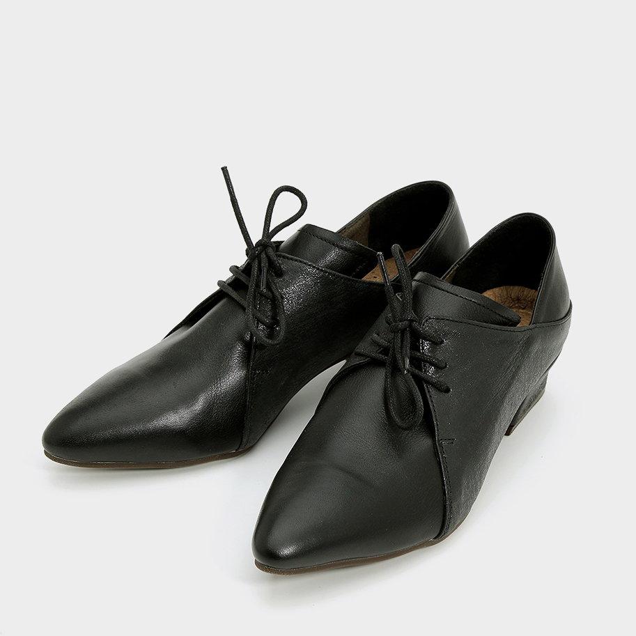 נעלי אוקספורד עור מחודדות – דגם מרילין