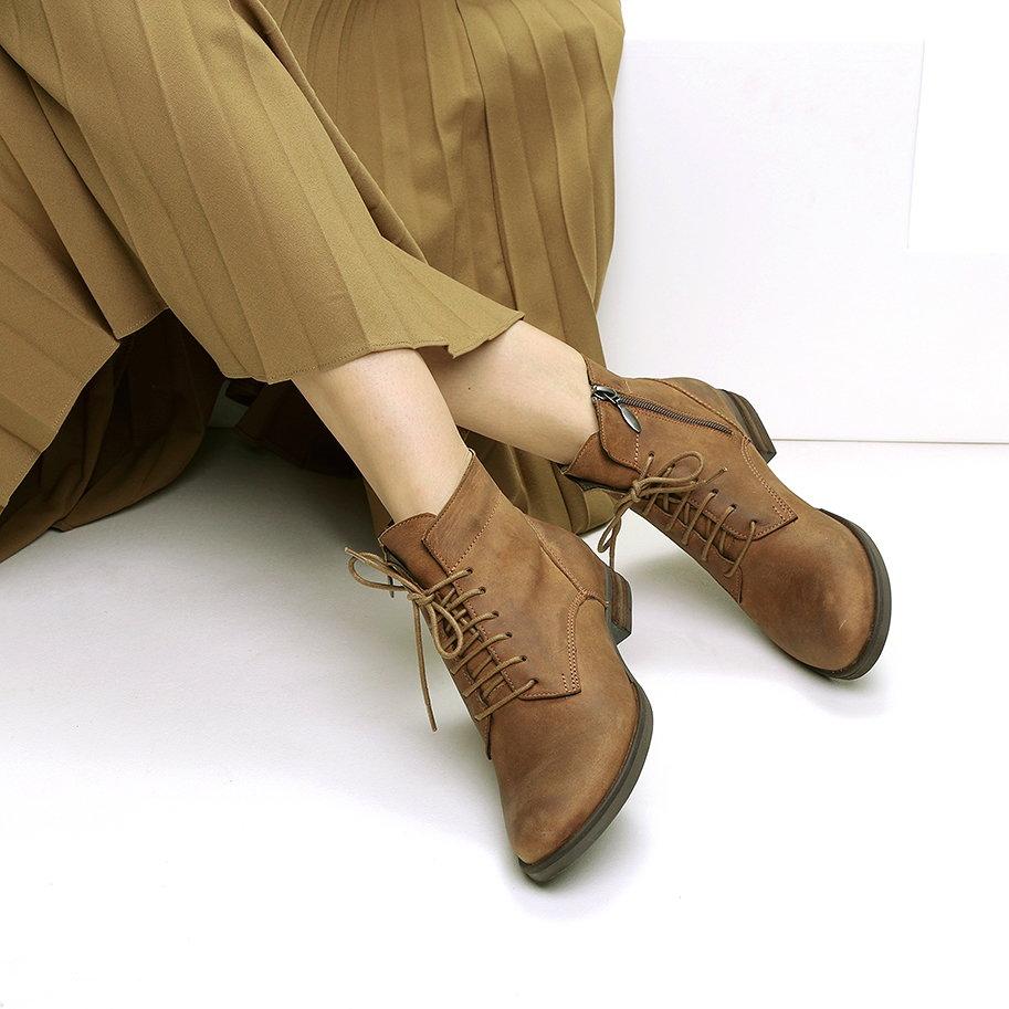 מגפיים צבאיים מעור – דגם קולין