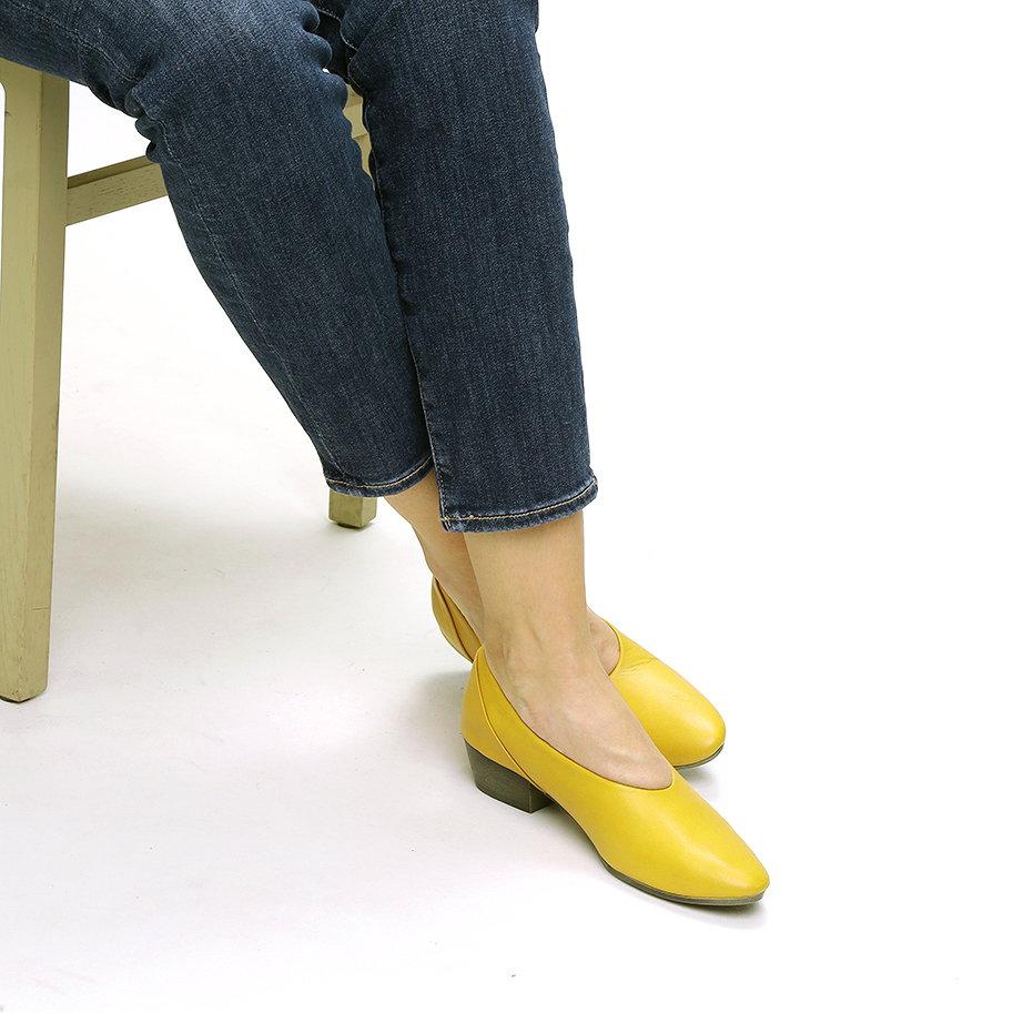 נעלי סירה קלאסיות מעור – דגם אשלי