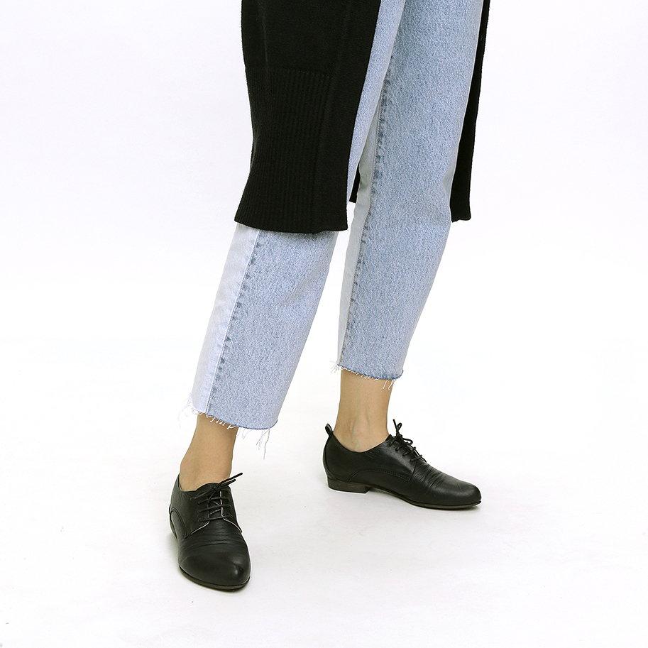 נעלי אוקספורד מעור – דגם דונה
