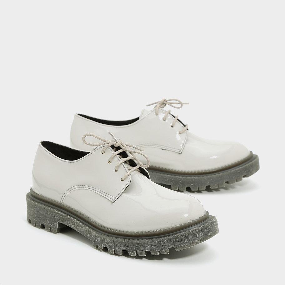 נעלי טרקטור עור מבריקות – דגם ליברפול
